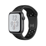 Apple Watch Series 4 44mm Nike+Asztroszürke alumíniumtok antracit Nike+sportszíj