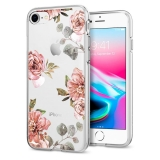 Spigen iPhone 8/7 Liquid Crystal ™ Aquarelle Rose mintával