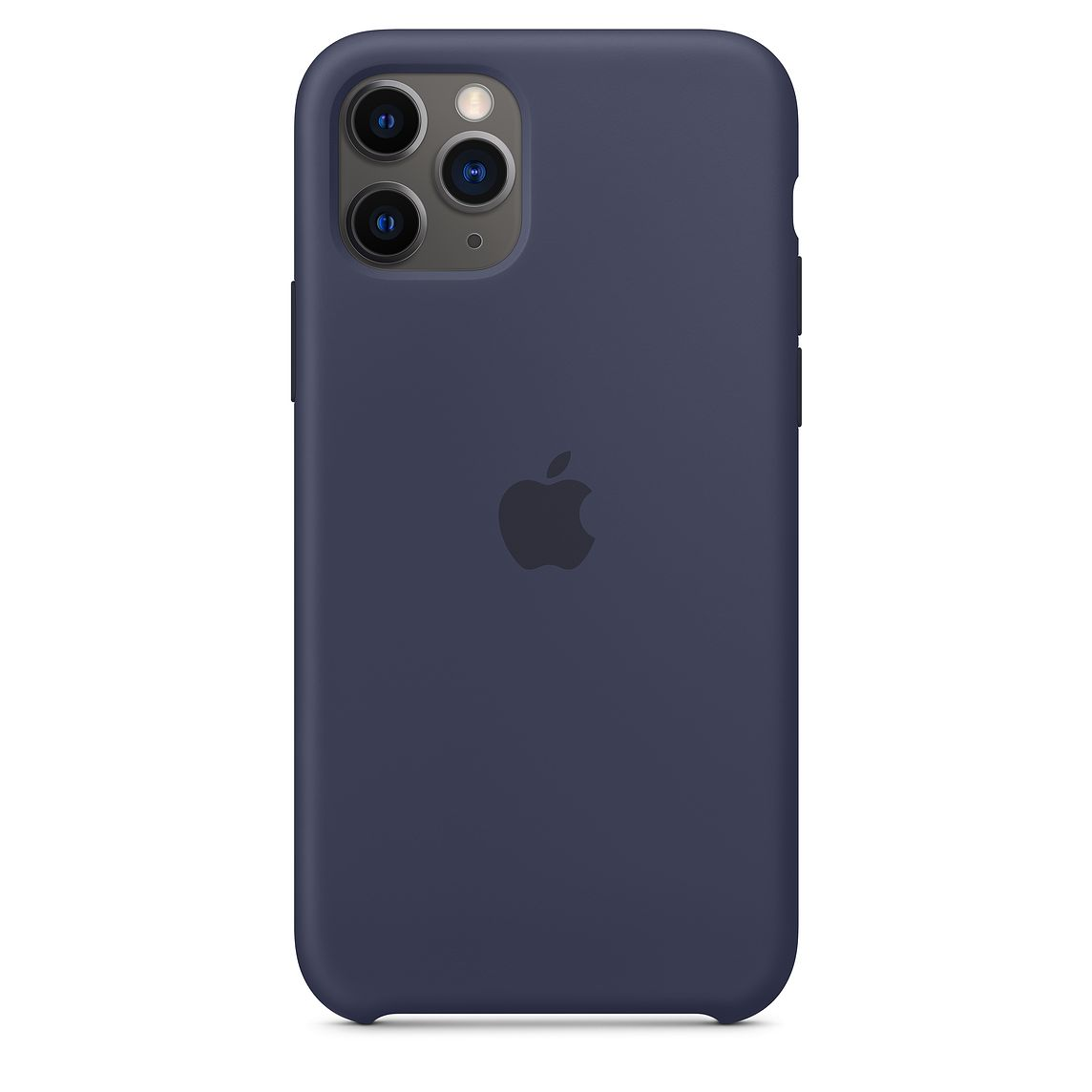 iPhone 11 Pro gyári szilikon tok éjkék színben