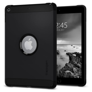 "Spigen SGP Tough Armor Apple iPad 9.7"" hátlap tok fekete"