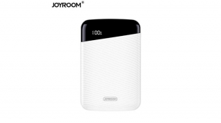JOYROOM Elegant Mini 10000mAh Power Bank fehér