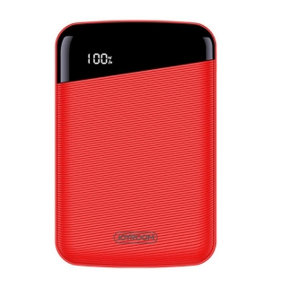 JOYROOM Elegant Mini 10000mAh Power Bank piros