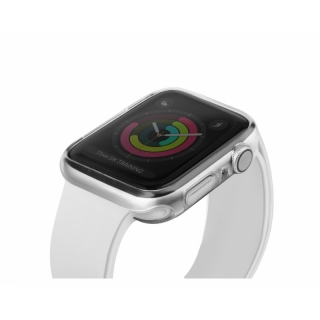 Uniq Apple watch 44mm ultravékony szilikon óratok átlátszó