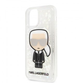 Karl Lagerfeld iPhone 11 Pro Liquid Glitter tok