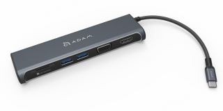 ADAM elements CASA HUB A03 5 port USB-C elosztó