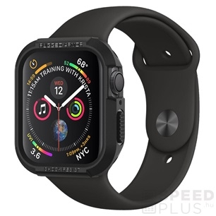 Spigen Apple Watch 44mm Rugged Armor óratok fekete