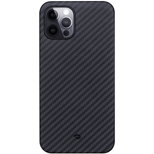 Pitaka tok Black/Grey Twill (KI1201P) Apple iPhone 12 Pro készülékre