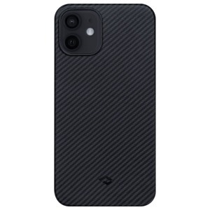 Pitaka AirCase Black/Grey (KI1201MA) Apple iPhone 12 készülékre