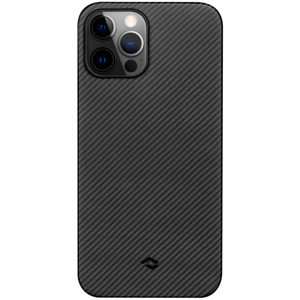 Pitaka AirCase Black/Grey (KI1201PA) Apple iPhone 12 Pro készülékre