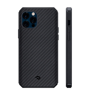 Pitaka MagEZ Pro 2 tok Black/Grey Twill (KI1201PP) Apple iPhone 12 Pro készülékh