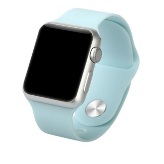 Apple Watch 38mm Baseus Fresh Color Sport óraszíj Kék színben