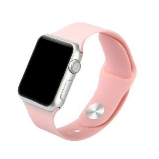 Apple Watch 42mm Baseus Fresh Color Sport óraszíj Rózsaszín színben