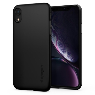 Spigen Thin Fit™ iPhone XR fekete tok
