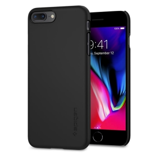 Spigen iPhone 8 Plus/7 Plus Thin Fit ™ tok fekete szinben