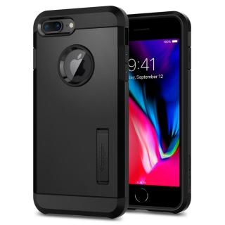 Spigen iPhone 8 Plus/ 7 Plus Tough Armor ™ fekete tok